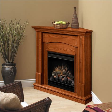 dimplex branson corner warm oak electric fireplace ebay