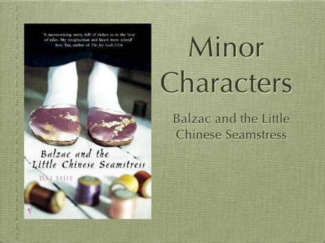 balzac and the little balzac minor characters