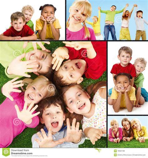 imagenes bebes alegres ni 241 os alegres foto de archivo imagen 18591180