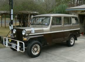 Mitsubishi Willys Jeep 4 Door Mitsubishi Built Willys Jeep Wagons