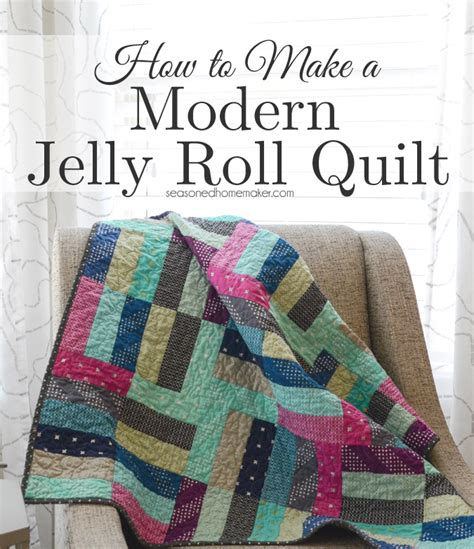 How To Make A Jelly Roll Quilt by A Quilt And A Giveaway