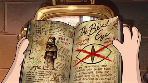 feenin for a real one 3 books datei s2e7 blinde seite png gravity falls wiki fandom