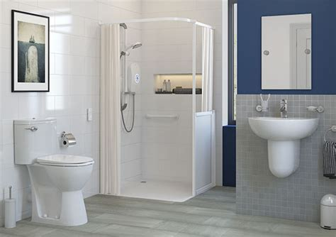 bathroom furniture solutions accessibility shower trays vs wet room formers akw