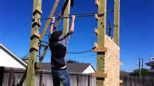 American Ninja Warrior Backyard Backyard Salmon Ladder Youtube