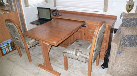 Rv Dining Table Replacement Rv Net Open Roads Forum Replacing Booth Dining Area With Table And Chairs On The Road