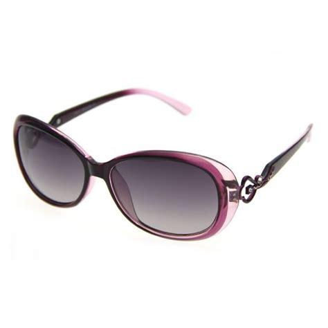 unique polarized womens oval fashion sunglasses brown