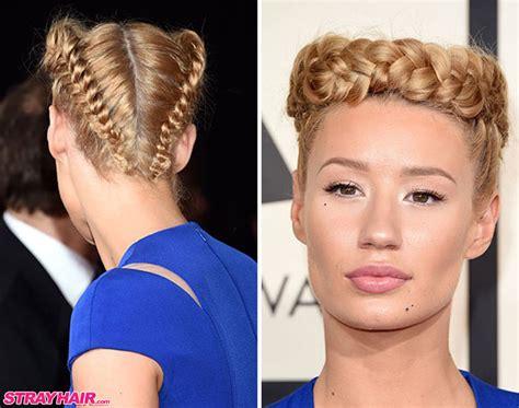 braided hairstyles that hides balding crown 8 fun iggy azalea hairstyles you should try strayhair