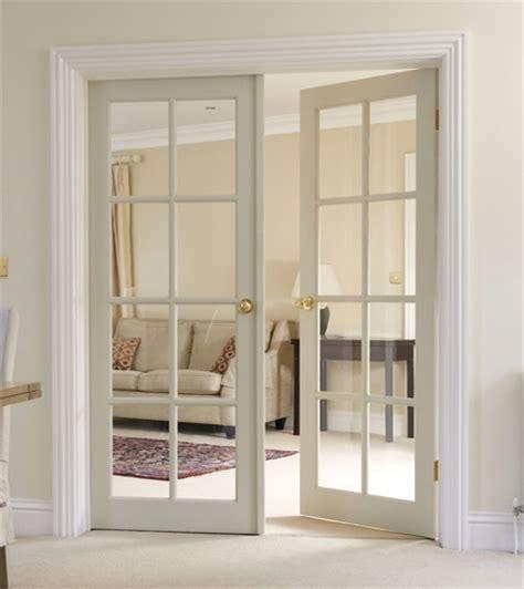 8 Panel Glass Interior Door 8 Light Clear Pine Glazed Door Softwood Doors Doors Joinery Howdens Joinery