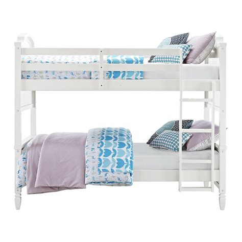 dorel twin over futon bunk bed dorel home furnishings vivienne white twin over twin bunk