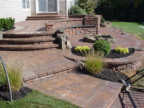 Patios & Multi Level Patios   Peter Anthony Landscaping
