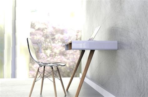 minimalist working desks from pianca digsdigs minimalist pacco desk with extra storage space digsdigs