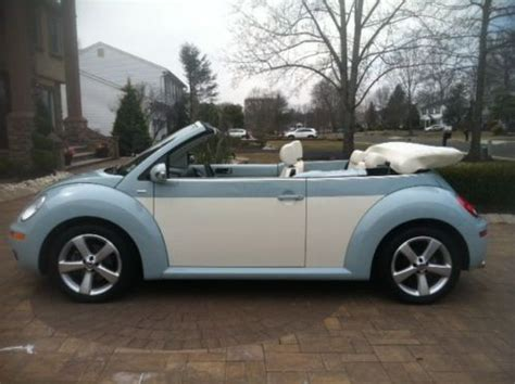 purchase   vw beetle convertible final edition  extended warranties  englishtown