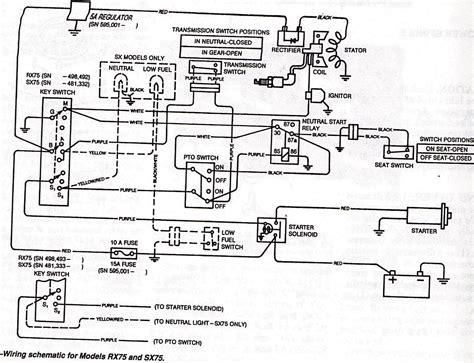 deere wiring diagram 75 deere ignition switch wiring diagram get free