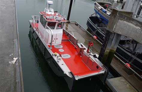 boat dock manufacturers california fire boat manufacturers rescue boats munson aluminum boats