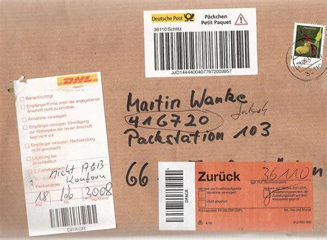 Packstation Adressaufkleber Drucken by Adresse F 252 R Pakete Und P 228 Ckchen Lesbos