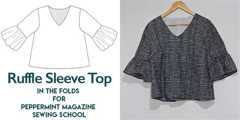 Amanda Ruffle Top amanda vs ruffle sleeve top