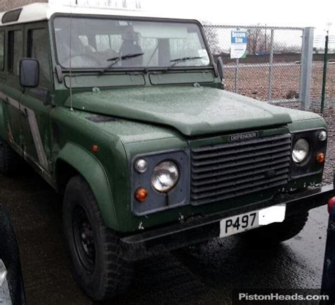 manual cars for sale 1997 land rover defender 90 instrument cluster classic land rover 110 defender county swtdi 1997 for sale classic sports car ref scotland