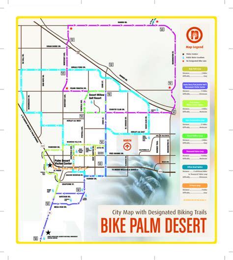 map of palm desert california palm desert biking map palm desert ca 92260 mappery