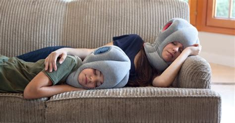 How To Make A Desk Pillow by Ostrich Pillow Junior Bury Your On Your Desk