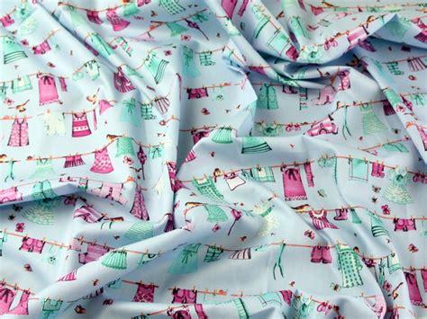 printable fabric philippines washing line print combed cotton poplin dress fabric ph