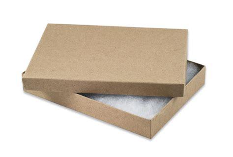 Paper Boxes - kraft paper jewelry box 75 retail boxes wholesale