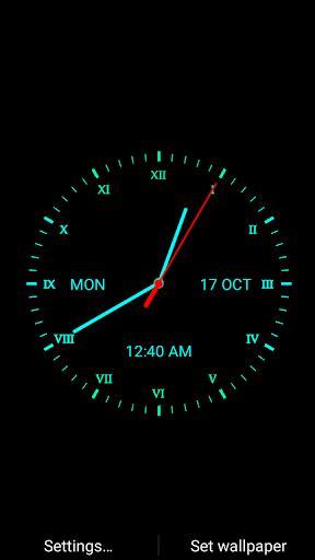 live clock themes mobile9 download analog clock live wallpaper google play softwares