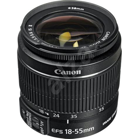 Tutup Lensa Canon 18 55mm canon ef s 18 55mm f3 5 5 6 is ii zoom black lens