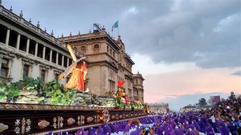 El Calendario De Guatemala Calendario De Procesiones En La Ciudad De Guatemala Para