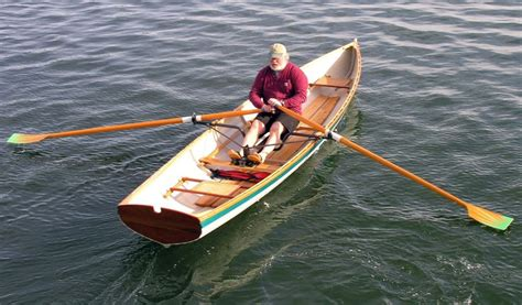 p row boat peregrine wherry row boat built by salt pond rowing for