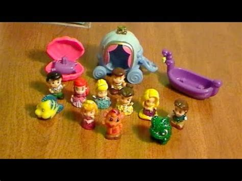 disney summer  princess glitter squinkies toys