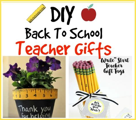 5 inexpensive back to school gifts for teachers brilliant diy gifts for teachers
