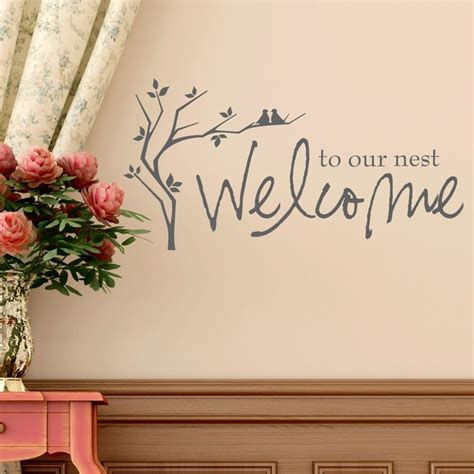 entryway wall quotes welcome entryway wall quotes quotesgram