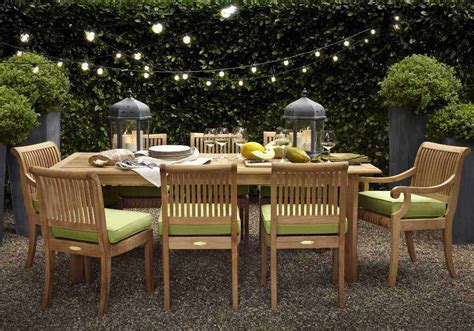 backyard dining string lighting in outdoor decor outdoortheme com