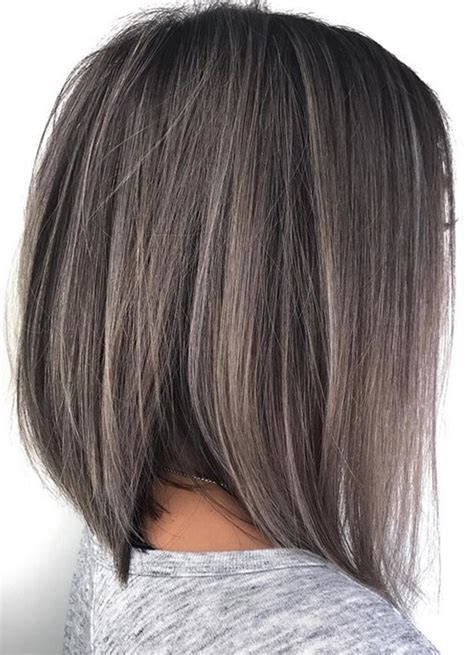 hairstyles and colours for greying hair 21 perfect ideas of grey blonde haircuts 2017 2018 hollysoly