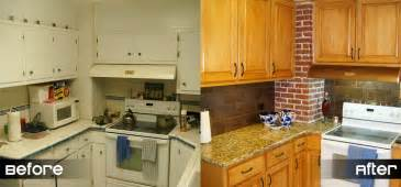 Kitchen Cabinet Refacing Before And After Photos by How To Reface Kitchen Cabinets Before And After Pictures