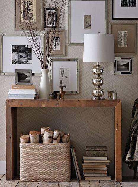 tavoli da ingresso tavoli consolle in legno 5 fantastiche idee per