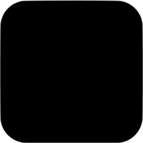 layout app not square black square ios app icon free black shape icons