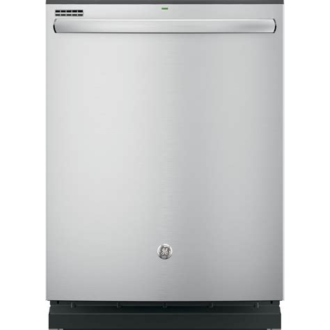 ge top built in tub dishwasher in stainless
