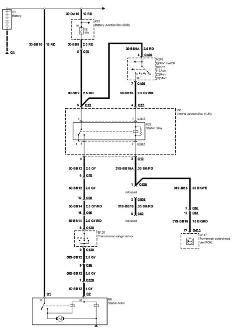 12 Volt Wiring Diagram 2010 Ford Focus Sel | schematic and