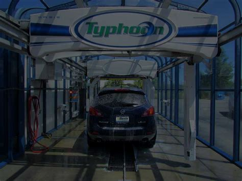typhoon oasis car wash systems automatic carwash