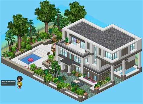 The Room Link Minvs On Quot Finished My Quot Habbo Mansion Quot Here Is