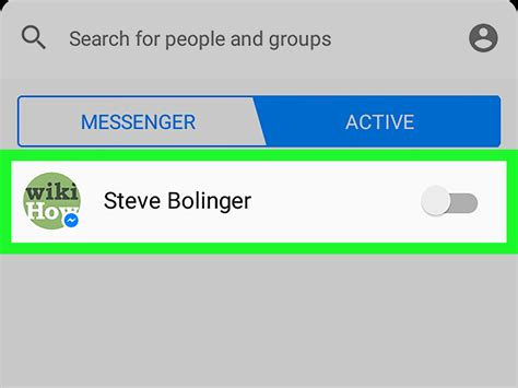 android messenger how to appear offline on messenger on android 4 steps