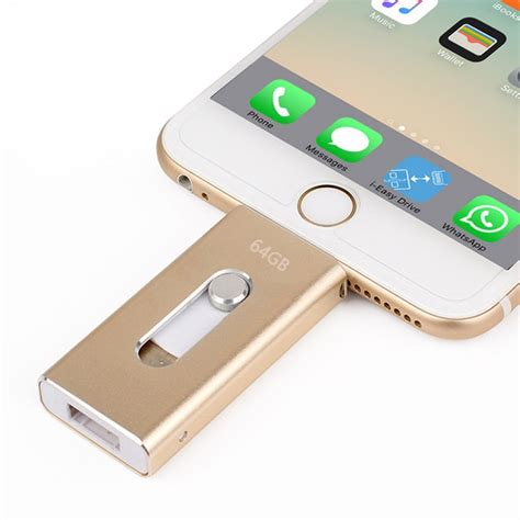 Iphone Jump Drive Wholesale Pen Drive 128gb 64gb 32gb 16gb Metal Usb Otg Iflash Drive Hd Usb Flash Drives For