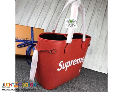 Tas Bag Ransel Lv Semprem louis vuitton neverfull supreme lv neverfull taytay shop go