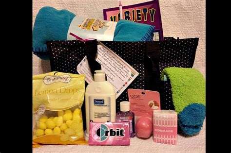 chemo comfort fundraiser by kristina azur mete chemo comfort bag