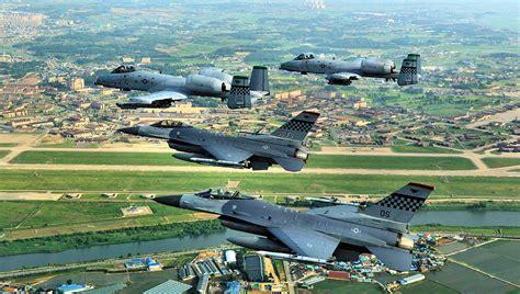 us air bases in korea map osan air base