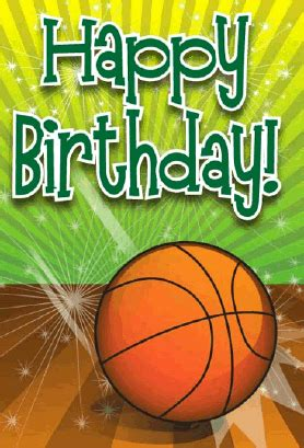 printable birthday cards basketball basketball birthday card