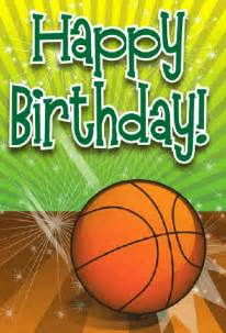 basketball birthday card