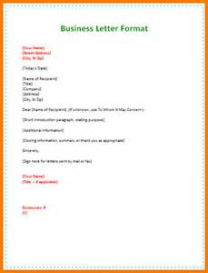 Business Letter Format For Students sample of business letter for students 3rd business letter format