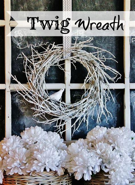 diy twig wreath twig wreath tutorial